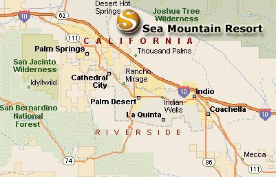 Sea Mountain Nude Lifestyles Spa Resort Location